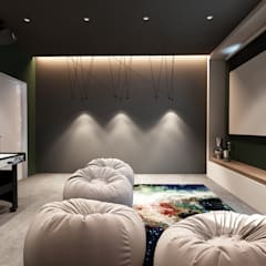 Media room by Style Home