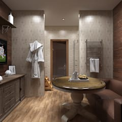 Steam Bath by Style Home