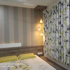 residence project: scandinavian Bedroom by pratima vaghela