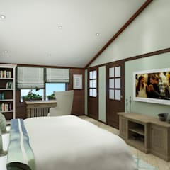 Girls Bedroom by Style Home