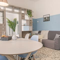 : scandinavian Living room by Habitat Home Staging & Photography