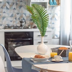 :  Dining room by Habitat Home Staging & Photography