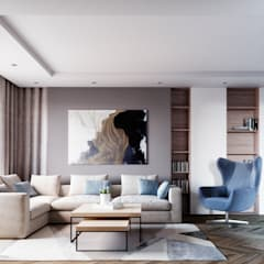 اتاق نشیمن by Style Home