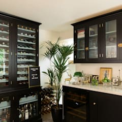 The Shaker Bar Room by deVOL:  Wine cellar by deVOL Kitchens