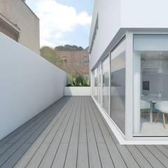 ระเบียง, นอกชาน by DMDV Arquitectos