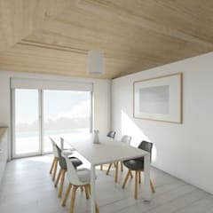 Cocinas equipadas de estilo  por DMDV Arquitectos