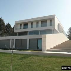 Casa Sostenible DMDV Arquitectos. Fachada.: Casas unifamilares de estilo  de DMDV Arquitectos
