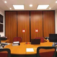 REMODELACION OFICINAS - HESAR HNOS. S.A. - V. ASCASUBI: Oficinas y Tiendas de estilo  por PRIGIONI Arquitectura y Diseño