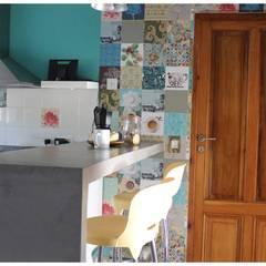Casa LM: Cocinas de estilo colonial por Gomez Vidaguren Arquitectos