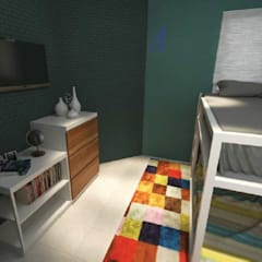Teen bedroom by Asta Karya Studio