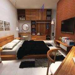 Bedroom by Asta Karya Studio