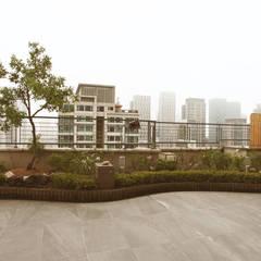 호텔같은 복층 펜트하우스 인테리어: 디자인 아버의  실내 정원,클래식