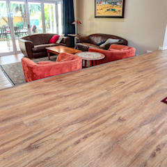 Residential Project, Northcliff:  Living room by Wanabiwood Flooring