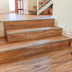 Residential Project, Northcliff:  Stairs by Wanabiwood Flooring, Classic