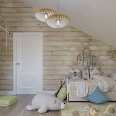 Nursery/kid's room by Defacto studio,