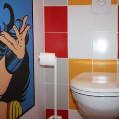 APPARTEMENT T2 A STRASBOURG: Murs de style  par Agence ADI-HOME