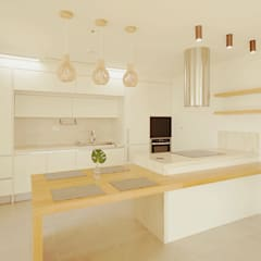 scandinavian Kitchen by 디자인 아버