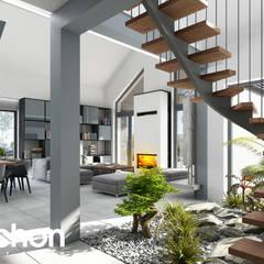 Jardines de invierno de estilo  por ARCHON+ PROJEKTY DOMÓW