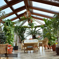 Wykonawca ogrodu zimowego: styl , w kategorii Ogród zimowy zaprojektowany przez P.W. Przybylski