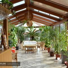 Ekskluzywny ogród zimowy: styl , w kategorii Ogród zimowy zaprojektowany przez P.W. Przybylski