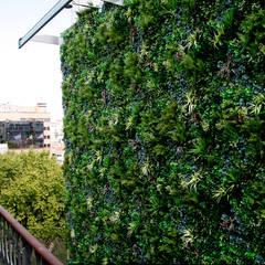 Vorgarten von Wonder Wall - Jardins Verticais e Plantas Artificiais