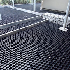 Fácil instalación de los estabilizadores de grava EasyGravel®: Jardines con piedras de estilo  de AMAGARD ESPAÑA
