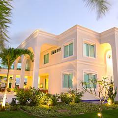 Residência Alphaville Fortaleza: Casas familiares  por RI Arquitetura