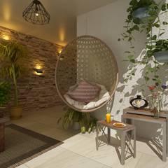 Casa Tarimoro: Terrazas de estilo  por Soma & Croma