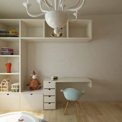 Girls Bedroom by Soma & Croma, Classic Wood-Plastic Composite