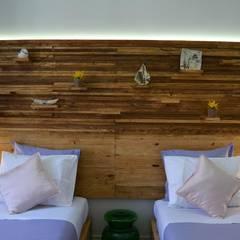 Quarto Ana Sobral 5B: Hotéis  por Natural Craft - Handmade Furniture