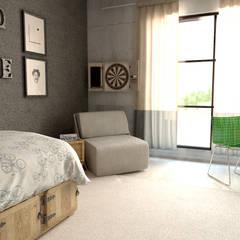 50GR Mimarlık – Toskana_villa:  tarz Çocuk Odası