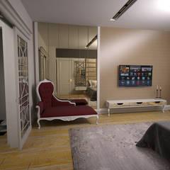 50GR Mimarlık – Toskana_villa:  tarz Yatak Odası