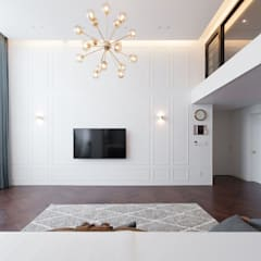 Living room by 디자인투플라이,