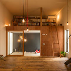 Planchers de style  par Takeru Shoji Architects.Co.,Ltd