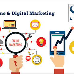 Digital marketing services:  Commercial Spaces by Startuparena