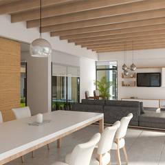 Lote 50 - Plaza Pueblo: Livings de estilo moderno por WGS SRL