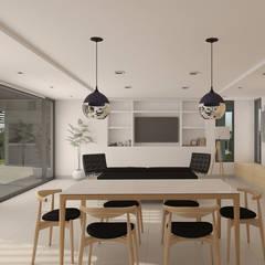 Lote 5 - Plaza Pueblo: Livings de estilo moderno por WGS SRL