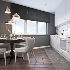 Niskobudżetowe mieszkanie w Krakowie: styl , w kategorii Kuchnia zaprojektowany przez Ambience. Interior Design
