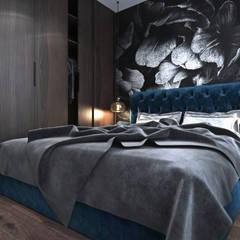 Niskobudżetowe mieszkanie w Krakowie: styl , w kategorii Sypialnia zaprojektowany przez Ambience. Interior Design