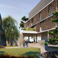 Wisma Bank Mandiri:  Ruang Komersial by MODULA