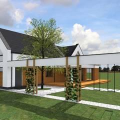 Dom zagrodowy w Rakowni: styl , w kategorii Dom jednorodzinny zaprojektowany przez Fiord-Architekci