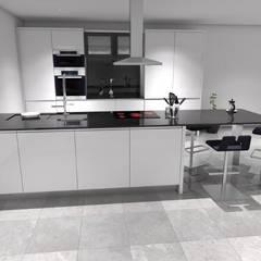 COZINHAS: Armários de cozinha  por Maria José Faria Interiores Ldª