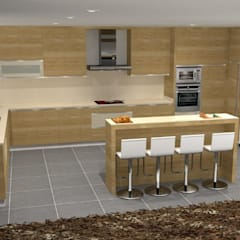 Kitchen units by Maria José Faria Interiores Ldª
