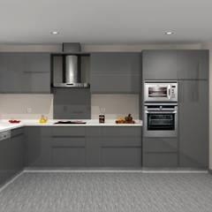 Kitchen units by Maria José Faria Interiores Ldª, Modern
