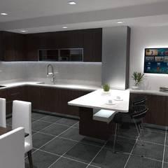 Kitchen units by Maria José Faria Interiores Ldª