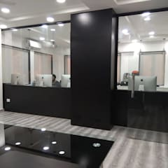 Oficinas y Tiendas de estilo  por About The Aesthetics