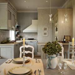 Дом в поселке Вартемяги: Кухни в . Автор – EJ Studio