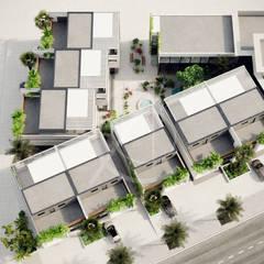 Family Compound Design :  Villas by Comelite Architecture, Structure and Interior Design
