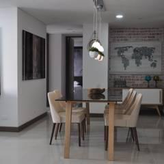 Fontliving. Viviendo tu propia historia: Comedores de estilo  por Natalia Mesa design studio