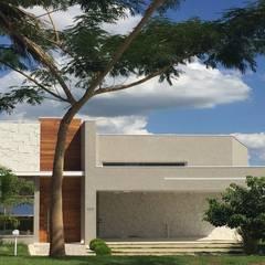 Condominios de estilo  por Andréa Generoso - Arquitetura e Construção, Moderno Concreto